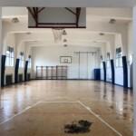 Sistemata la palestra delle scuole medie