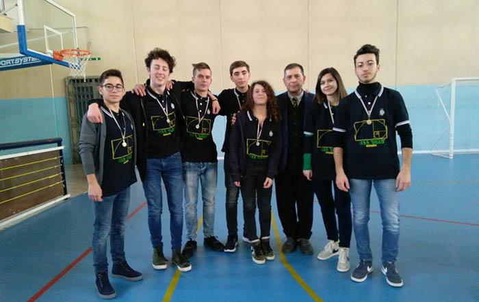 La squadra degli studenti che partecipò nel 2018(classificati al 2° posto)
