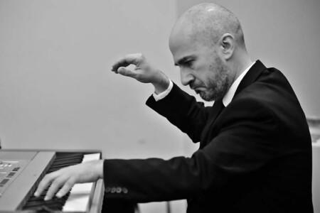Il maestro Michele Notarangelo