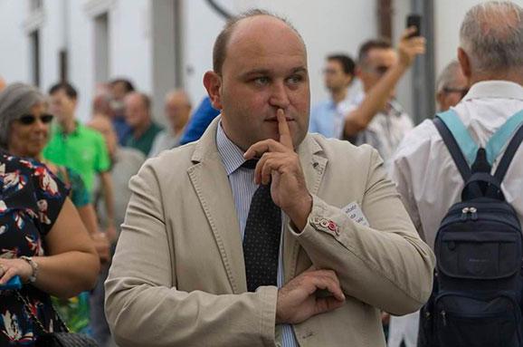 Michele Vitarelli, presidente del Comitato Festa Patronale di Mattinata