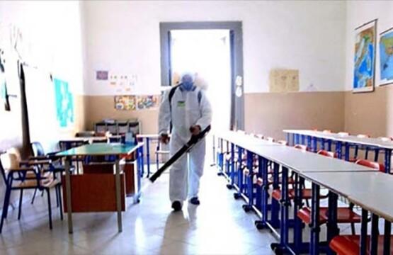 Sanificazione scuola