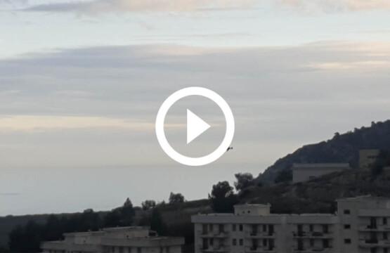Aereo vola basso, 12-12-2020