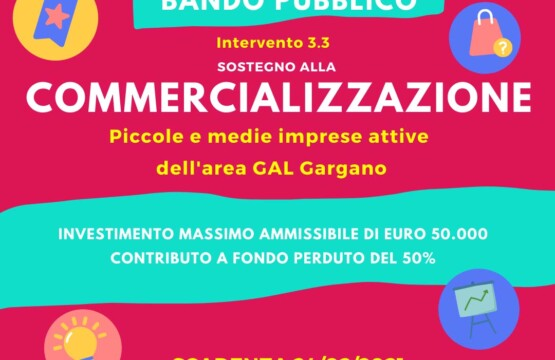 GAL Gargano, Intervento 3.3