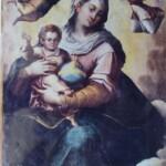 Tela originale della Madonna della Luce rubata nel 1971;