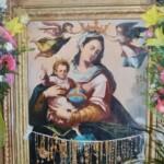 Copia della Madonna della Luce su legno commissionata dopo il furto e realizzata dalla stamperia Fratelli Alinari di Firenze, ancora oggi venerata dal popolo mattinatese;