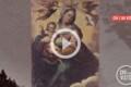 Scomparsa quadro Madonna della Luce