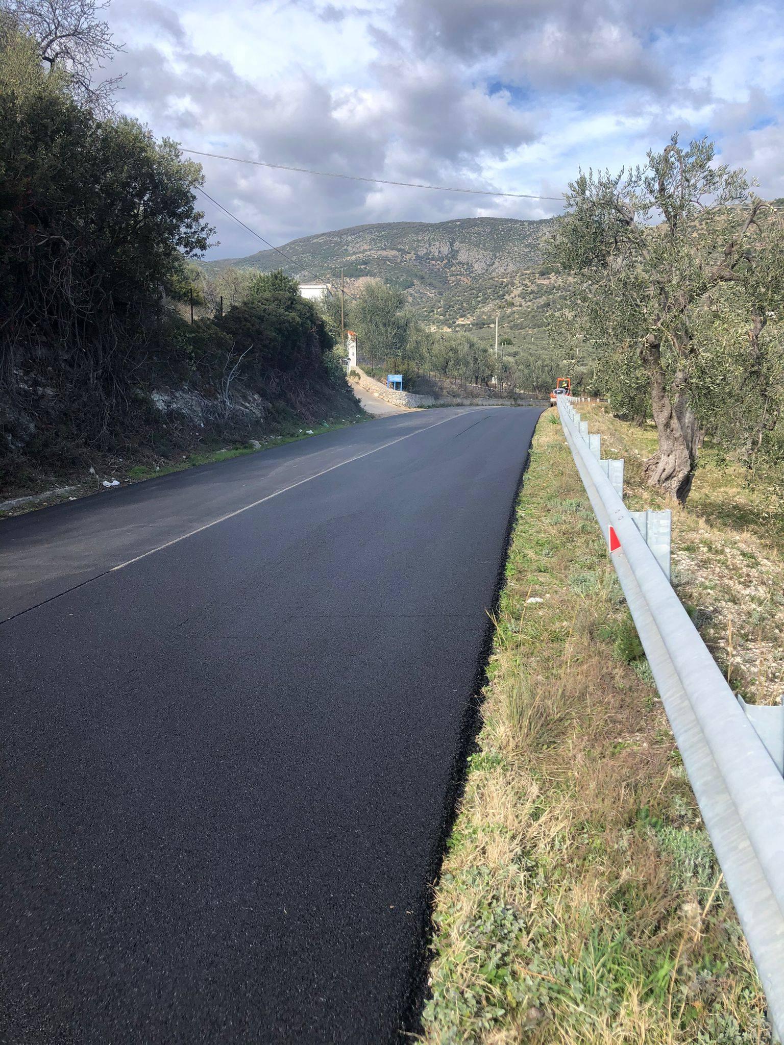 Bitumazione della Strada Comunale del Mare, ex SP 53
