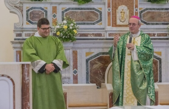 Don Giovanni Totaro e Mons. Franco Moscone