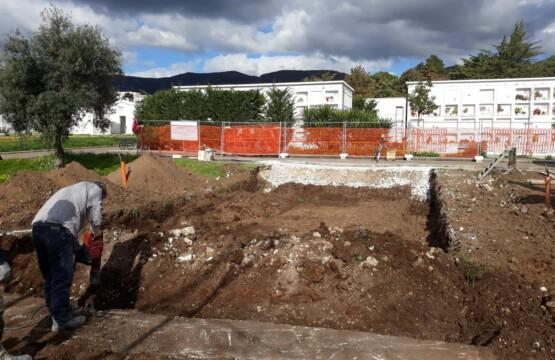 Nuovi loculi cimiteriali