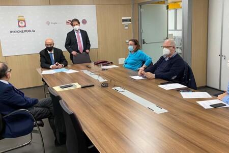 Piano strategico vaccinale anti-COVID-19, firmato l'accordo tra la Regione Puglia e i Medici di Medicina Generale