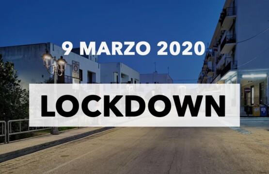 Lockdown 9 marzo 2020