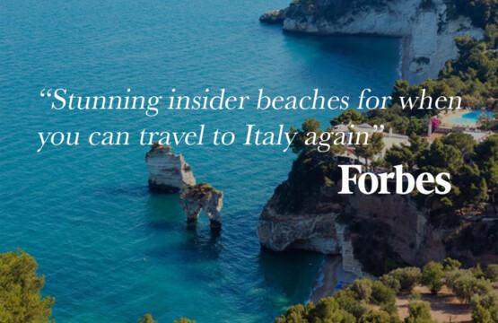 Forbes celebra le spiagge italiane
