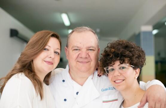 Da sinistra: Marilú Di Mauro, Gabriele Di Mauro ed Imma Di Mauro, titolari della Gelateria Gabrielino